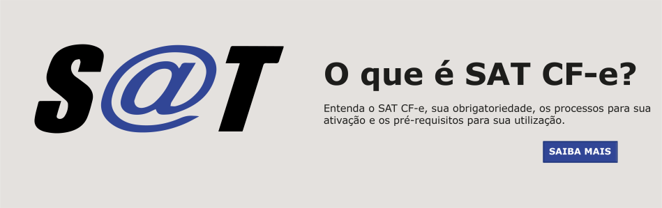 O que é SAT CF-e