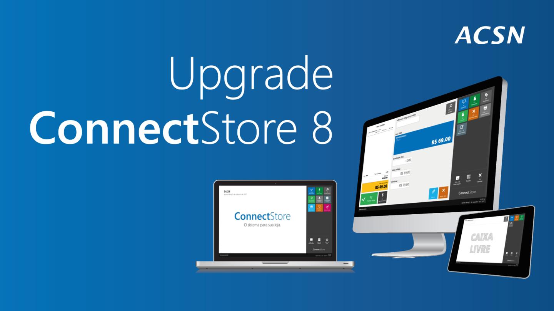 Upgrade da versão 7 para o ConnectStore 8